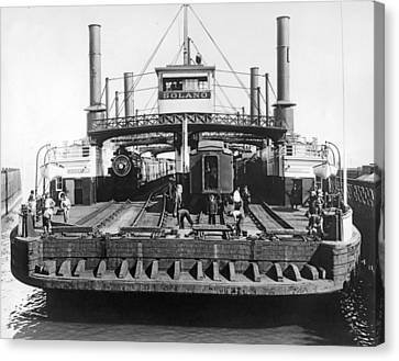 The Solano Ferry Canvas Print by Underwood Archives