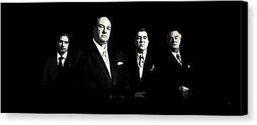 The Sopranos Canvas Print by Laurence Adamson