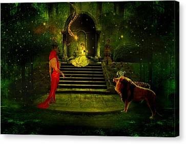 The Sorceress Canvas Print by Amanda Struz