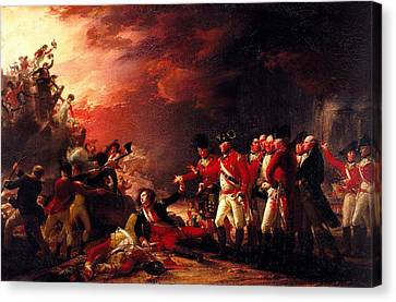 The Sortie From Gibraltar, 1788 Oil On Canvas Canvas Print by John Trumbull