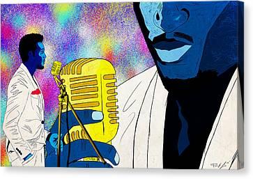 The Soul Singer Canvas Print by Kenal Louis