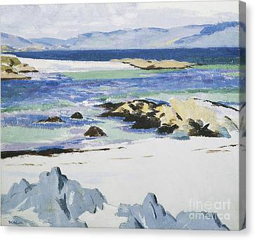 The Sound Of Mull From Iona Canvas Print