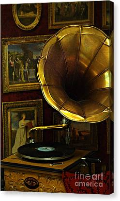 The Sound Of Music Canvas Print by Daniela White