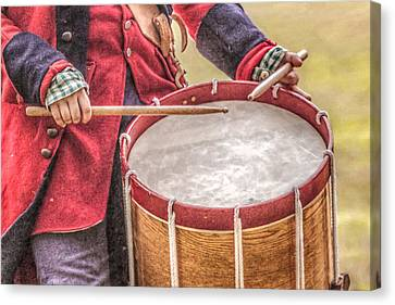 The Sound Of The Drums Canvas Print