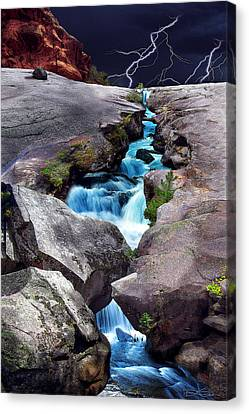 The Source Canvas Print by Ric Soulen