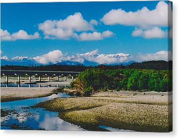 The Southern Alps Canvas Print by Jon Emery