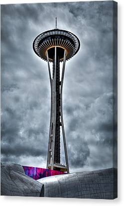 The Space Needle - Seattle Washington Canvas Print