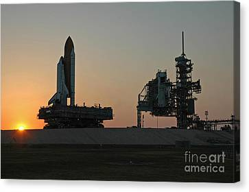 The Space Shuttle Discovery Canvas Print