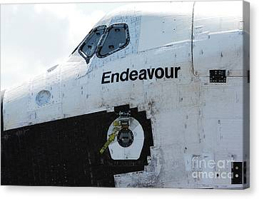 The Space Shuttle Endeavour 2 Canvas Print by Micah May