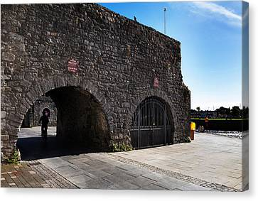 The Spanish Arch, Galway City, Ireland Canvas Print by Panoramic Images