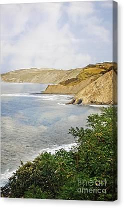 The Spanish North Coast Canvas Print by Mary Machare