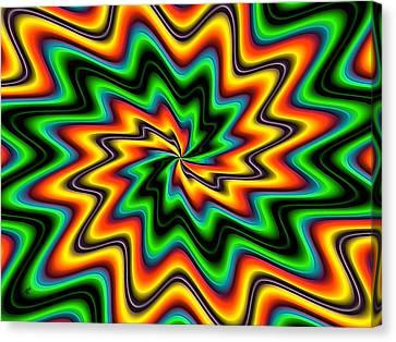 The Spark By Rafi Talby  Canvas Print by Rafi Talby