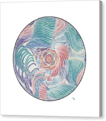 Inner World Canvas Print - The Spark Of Life by Vanda Omejc