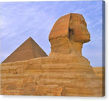 Pharaoh Canvas Print - The Sphinx by Tony Beck