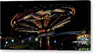 The Spin Canvas Print by Jp Grace