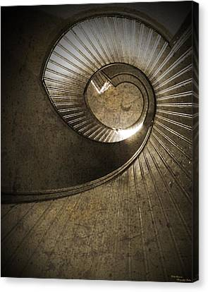 The Spiral Canvas Print
