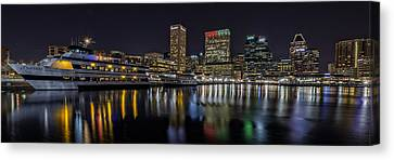 The Spirit Of Baltimore Canvas Print by Rick Berk