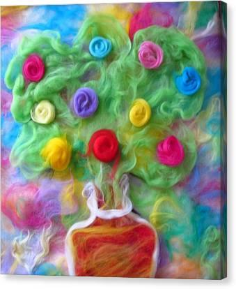 The Spirit Of Cider Canvas Print by Natalia Levis-Fox