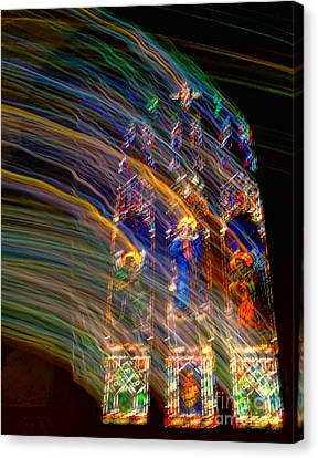 The Spirit Of The Saints Canvas Print by Kathleen K Parker