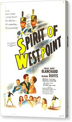 The Spirit Of West Point, Us Poster Canvas Print by Everett