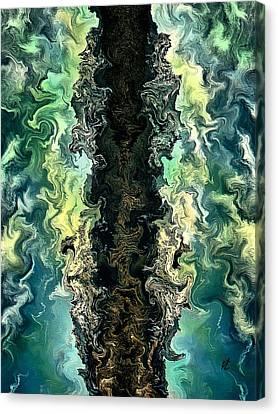 The Split By Rafi Talby Canvas Print by Rafi Talby