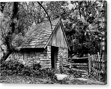 The Spring House Canvas Print by Paul W Faust -  Impressions of Light