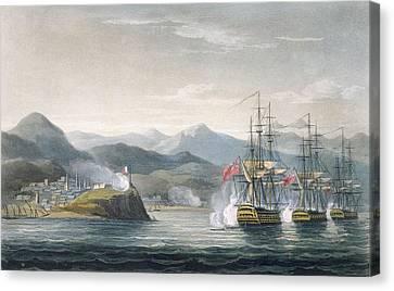 The Squadron Canvas Print