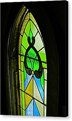 The Stained Glass Canvas Print by Image Takers Photography LLC -  Laura Morgan