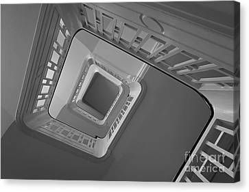 Canvas Print featuring the photograph The Staircase by Inge Riis McDonald