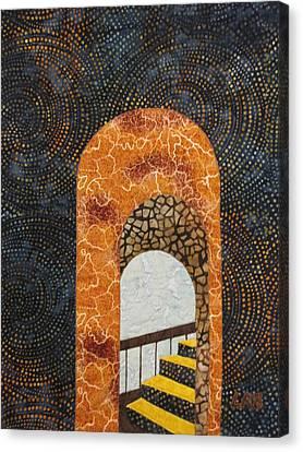 The Staircase Canvas Print by Lynda K Boardman