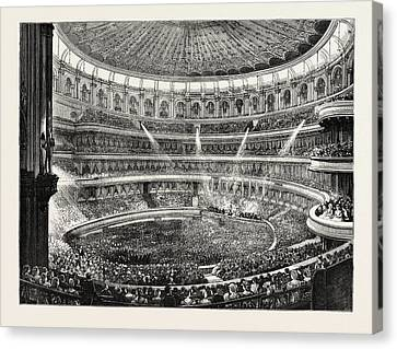 The State Concert At The Royal Albert Hall General Effect Canvas Print