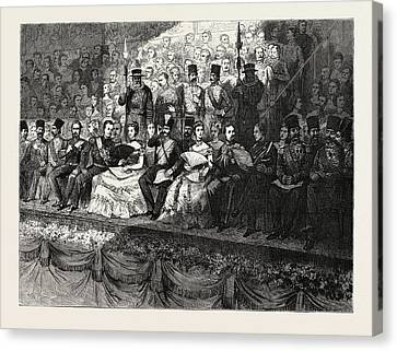 The State Concert At The Royal Albert Hall The Dais Canvas Print