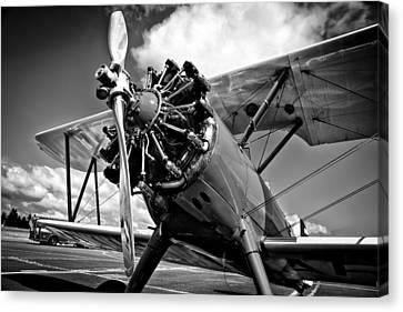 The Stearman Biplane Canvas Print