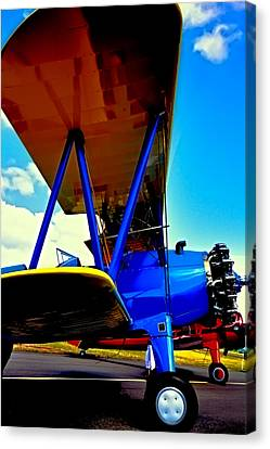 The Stearman IIi Canvas Print by David Patterson