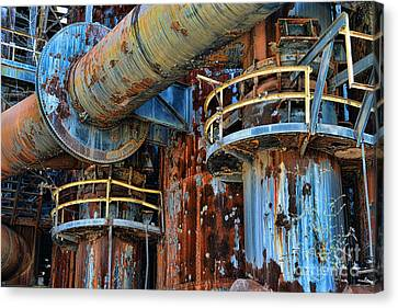 The Steel Mill Canvas Print