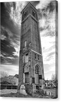 The Steeple 1892  Canvas Print by Guy Whiteley