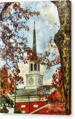 Christian Sacred Canvas Print - The Steeple by Darren Fisher