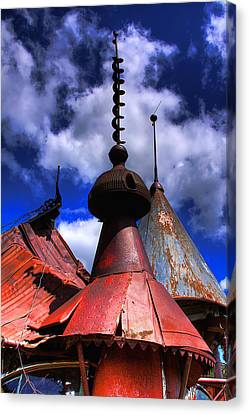 The Steeples Canvas Print by David Patterson