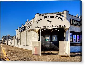 Stone Pony Canvas Print - The Stone Pony Asbury Park New Jersey by Geraldine Scull