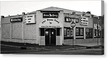 The Stone Pony Asbury Park New Jersey Canvas Print by Terry DeLuco