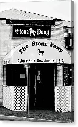 The Stone Pony Asbury Park Nj Canvas Print by Terry DeLuco
