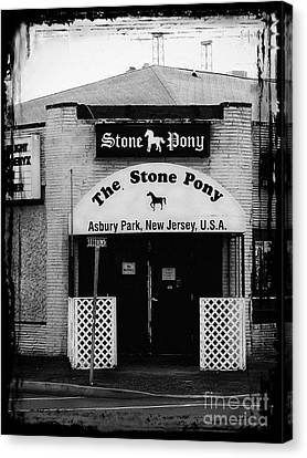 Street Art Canvas Print - The Stone Pony by Colleen Kammerer