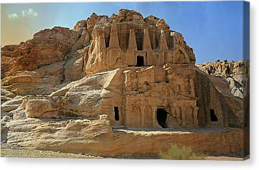 Petra Canvas Print - The Stones Still Speak by Stephen Stookey