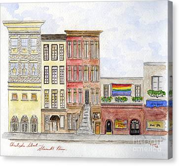 The Stonewall Inn Canvas Print by AFineLyne