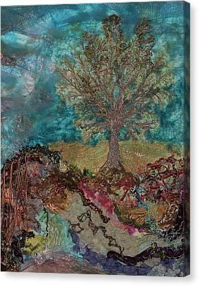 Standing Oak - 1b Canvas Print