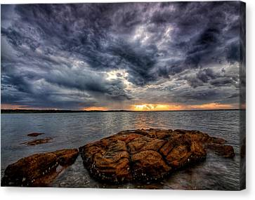 The Storm Cometh Canvas Print by Paul Svensen