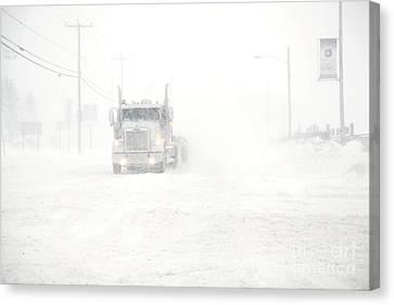 The Storm Canvas Print by Sophie Vigneault