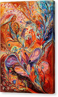 Giclee On Canvas Print - The Story Of Wild Iris by Elena Kotliarker