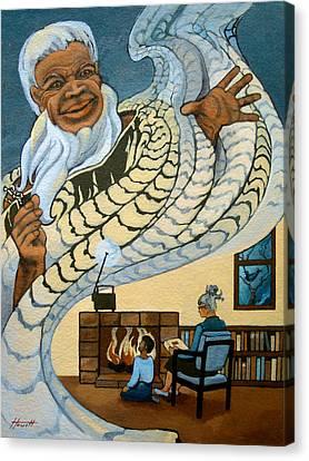 The Storyteller Canvas Print by Patricia Howitt