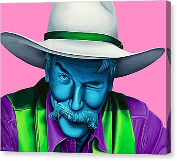 The Stranger- Color Edit- Canvas Print
